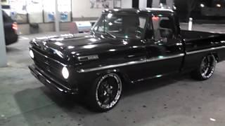 Twin Turbo F100 on Forgiatos shining!