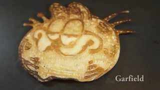 getlinkyoutube.com-Pancake art - Cartoons