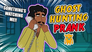 getlinkyoutube.com-Crazy Ghost Hunting Prank - Ownage Pranks