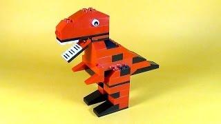 getlinkyoutube.com-How To Make Lego DINOSAUR T-REX - 10664 LEGO® Bricks and More Creative Tower Tutorial