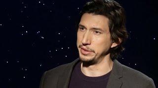 getlinkyoutube.com-Adam Driver Says Kylo Ren's Lightsaber A Metaphor For Character