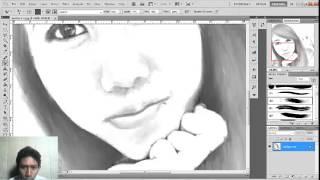 getlinkyoutube.com-Tutorial Cara Membuat Gambar Wajah Menjadi Sketsa dengan Photoshop - Untuk Pemula