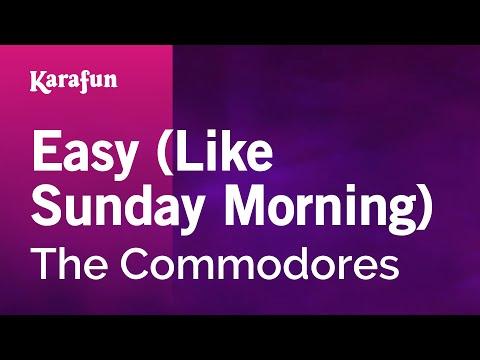Karaoke Easy - The Commodores *