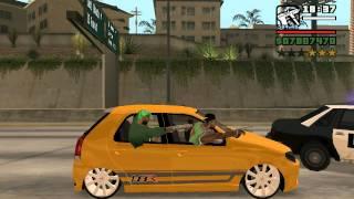 getlinkyoutube.com-Grove Street dando fuga na Policia de Los Santos