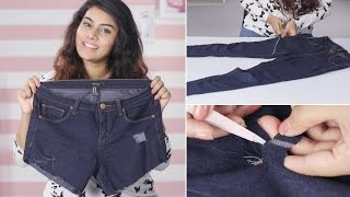DIY: How To Properly Cut Your Jeans Into Shorts