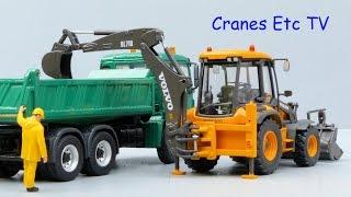getlinkyoutube.com-Motorart Volvo BL71B Backhoe Loader by Cranes Etc TV