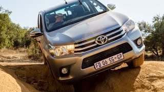 getlinkyoutube.com-Toyota Hilux offroad review at Hennops 4x4 course