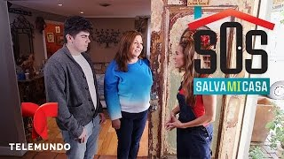 getlinkyoutube.com-SOS Salva Mi Casa 2 | Noemí necesita ayuda con puertas y el cuarto de su madre | Telemundo