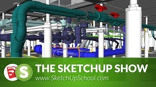 getlinkyoutube.com-Detailed Pipe & Steelwork with 3Skeng for SketchUp  | SketchUp Show #71 (Tutorial)