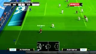 getlinkyoutube.com-Relatos de Vignolo -  Barcelona vs Real Madrid [PES 6] [Descarga]