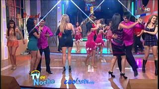 getlinkyoutube.com-Sugey Abrego Andrea Garcia Cecy Gutierrez Baile Microfaldas Nalgas Show MIX HD