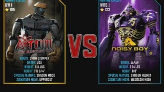 getlinkyoutube.com-Real Steel WRB Atom VS Noisy Boy NEW graphics blows