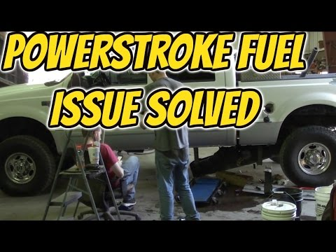 Most overlooked Maint Item on 7.3 Powerstroke