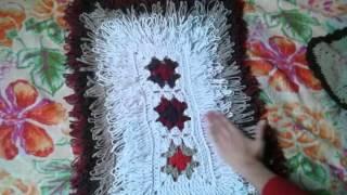 getlinkyoutube.com-Tapetes de croche com resto de linhas