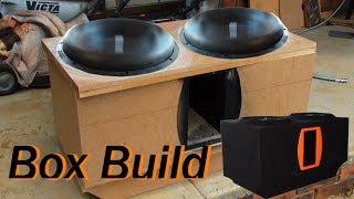 getlinkyoutube.com-Box Build/Install 2 Sundown Audio ZV412's For 2013 Mitsubishi Outlander