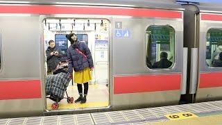 getlinkyoutube.com-舞浜駅の発車メロディーがアナ雪に