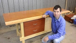 Quickie workbench (made with mortise and tenons)