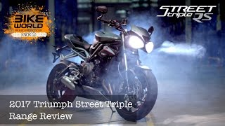 getlinkyoutube.com-2017 Triumph Street Triple Range Preview