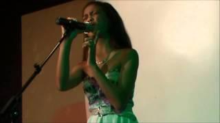 "getlinkyoutube.com-Ylona Garcia sings ""bound to you"""