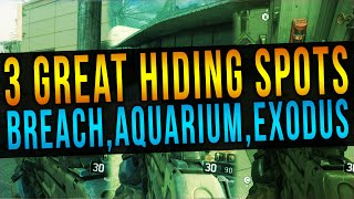 getlinkyoutube.com-Call Of Duty Black Ops 3 - 3 Great Hiding Spots On Breach, Aquarium & Exodus