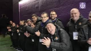 PRESENTACIÓN OFICIAL DEL REAL VALLADOLIDI DE LA MANO DE RONALDO (10-11-2018)