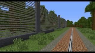 getlinkyoutube.com-Jurassic Park - Minecraft Vanilla Showpark