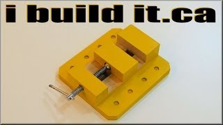 getlinkyoutube.com-Wooden Drill Press Vise