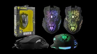 getlinkyoutube.com-รีวิว NUBWO - NM 68 RAIDEN Gaming Mouse ไฟ7สี