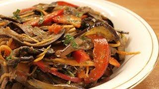getlinkyoutube.com-Баклажаны по-корейски / Homemade Korean style eggplant ♡ English subtitles