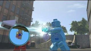 getlinkyoutube.com-LEGO Marvel Super Heroes (PS4) - Iceman Free Roam Gameplay