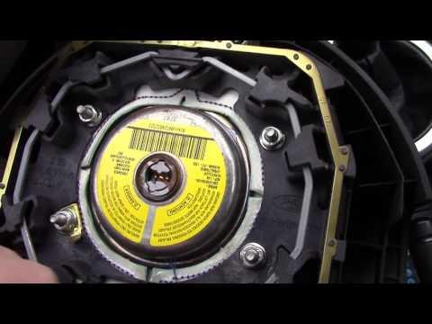 Снимаем руль на Ford Fusion и обшиваем кожаной оплеткой