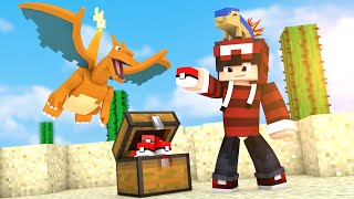 Minecraft - LIGA POKÉMON: POKEBOLA DA SORTE ‹ #01 ›