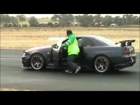 Nissan Skyline GTR R34 drag