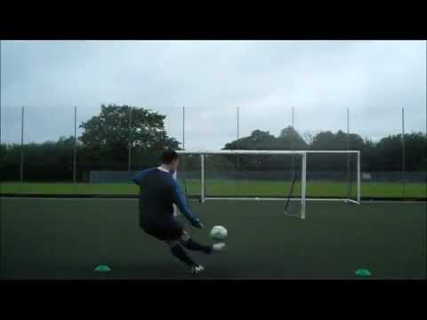 Ryan Williams - Top Spin Free Kicks and Laces Shots on AsiaEurope TV