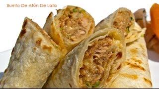 getlinkyoutube.com-Burrito de atún de lata