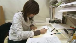 getlinkyoutube.com-Making Naruto the Movie 1 (Inside the Animation Studio)