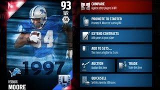 Madden 16 Ultimate Team: HOW I GOT HERMAN MOORE IN MUT! | Madden 16 Ultimate Team | MUT 16 Gameplay
