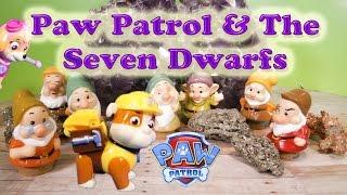getlinkyoutube.com-PAW PATROL Nickelodeon Paw Patrol and the Seven Dwarfs a Paw Patrol YouTube Video Parody