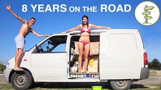 getlinkyoutube.com-Couple Spends 8 Years Living the Van Life & Backpacking Around the World