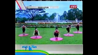 getlinkyoutube.com-Feni Rose Senam Fresh & Fun antv 28052012 -3