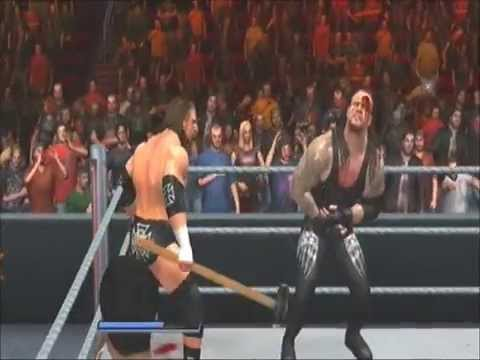 WWE Triple H Vs Undertaker - WRESTLEMANIA 27 - (SVR 2011)