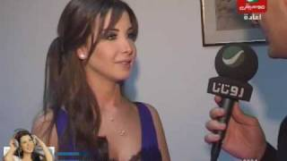 getlinkyoutube.com-Nancy Ajram - Lebanon Interview (Rotana Akher El Akhbar)