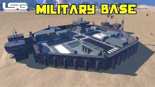 getlinkyoutube.com-Space Engineers - Octagon Military Base