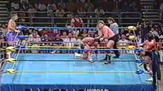 getlinkyoutube.com-The Steiner Brothers vs Steve Williams and Terry Gordy