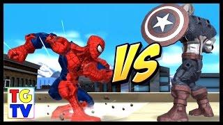 getlinkyoutube.com-Marvel Super Hero Mashers Spiderman | Mix + Mash