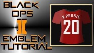 getlinkyoutube.com-Call of Duty Black Ops 2 : Manchester United Shirt Emblem Tutorial