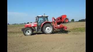 Tani siew i uprawa gleby - siew zboża 2011