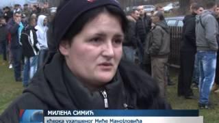 getlinkyoutube.com-U Lokanju održan protest zbog hapšenja desetorice Srba
