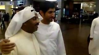 شاهد: حمدان بن محمد (فزاع) مع طارق العلي في دبي مول