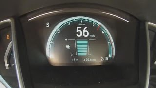 getlinkyoutube.com-2016 Honda Civic 1.5 Liter Turbo 0-60 MPH Test Video
